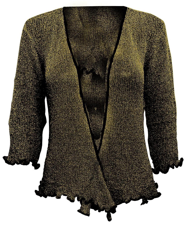 85%OFF Ikat - Bolero de crochet para señora 9ff9e60abd392