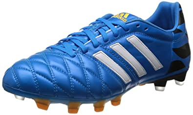 cheap for discount a7ad9 ebd72 hot adidas 11pro soft ground mens football boots 1bbde 7fec7 spain adidas  11pro fg fussballschuhe core white solar blue gold metallic 41 1 16ef6 88f1a