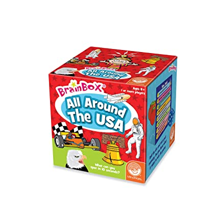 Amazon Com Brainbox All Around The Usa Toys Games