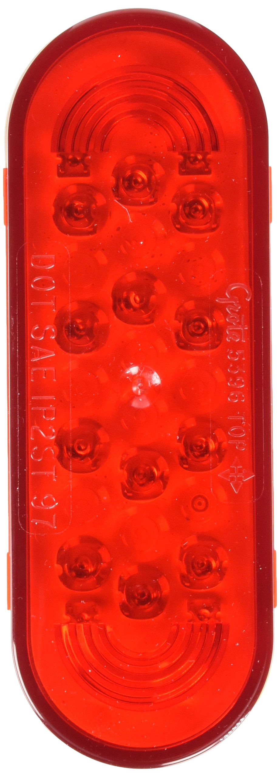 Grote 53962 SuperNova Oval LED Stop Tail Turn Light (Grommet Mount) by Grote