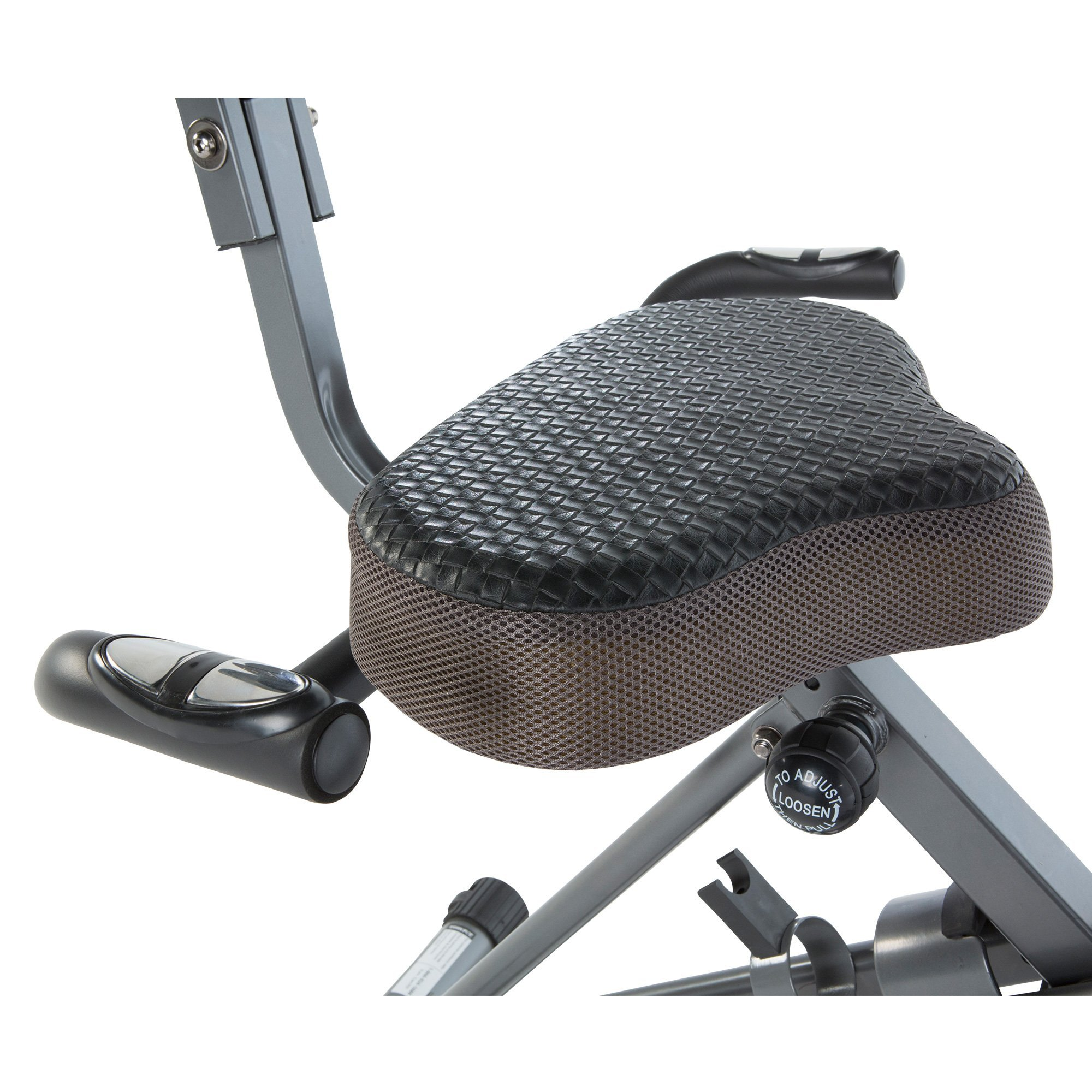 Exerpeutic ExerWorK 1000 Fully Adjustable Desk Folding Exercise Bike with Pulse by Exerpeutic (Image #5)