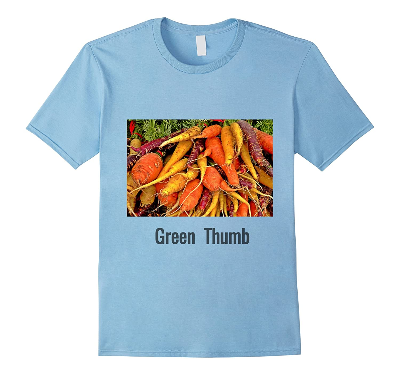 Carrots Root Organic Vegetable Green Thumb T-Shirt-TH