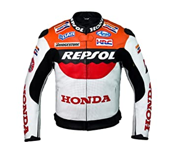 Honda Repsol Team Racing Leather Jacket (without a hump) (XL (EU56))