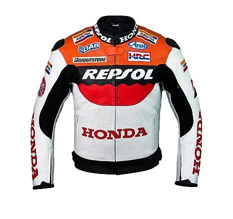 Honda Repsol Team Chaqueta de cuero (M (EU50))