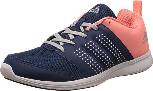 adidas Women's Adispree W Mysblu, Metsil and Sunglo Running Shoes