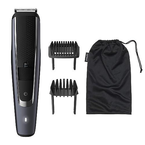 Philips Barbero Serie 5000 BT5502 16 Recortadora de barba con 40 posiciones de longitud resistente al agua y cuchillas metálicas autoafilables