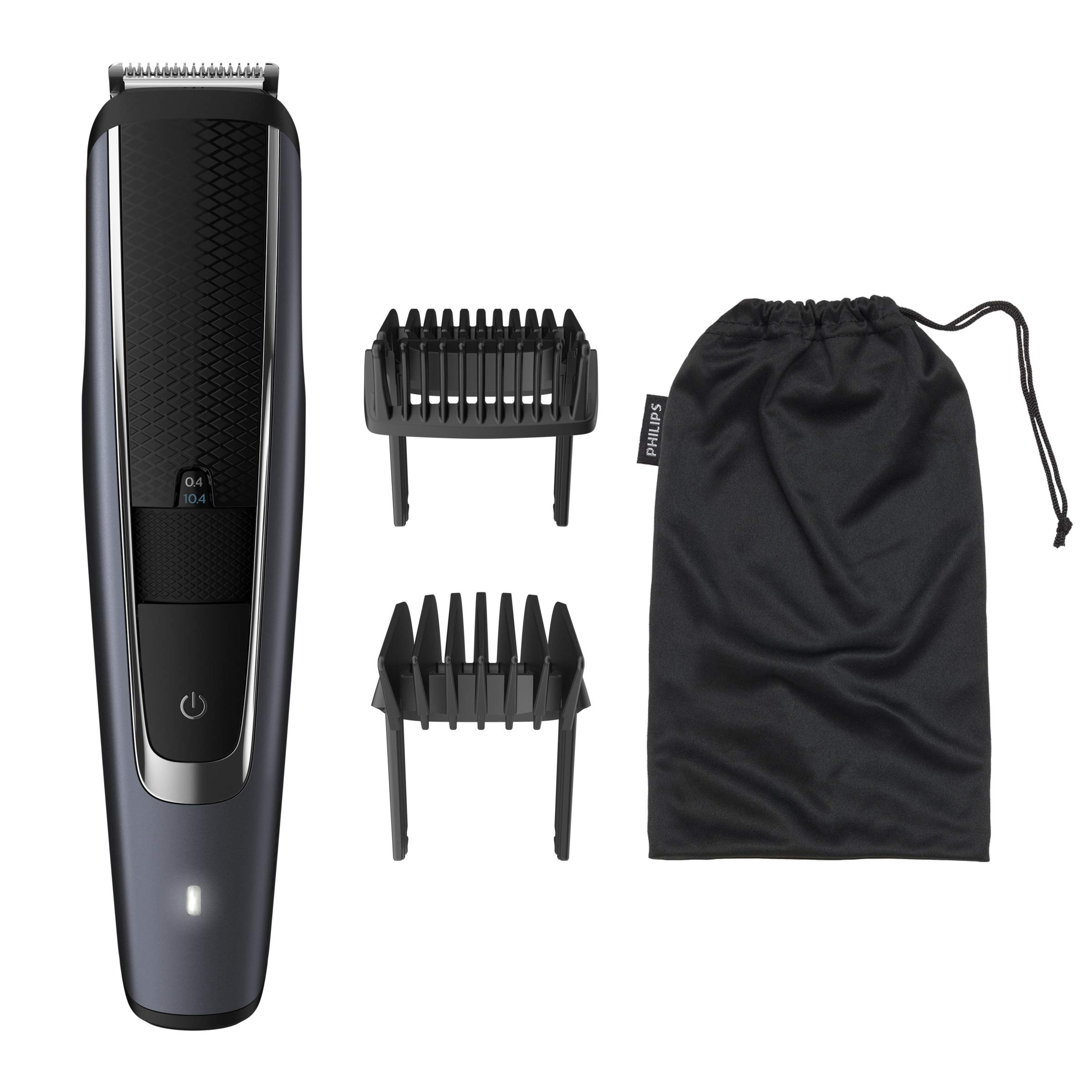 Philips Barbero Serie 5000 BT5502/16 - Recortadora de barba con 40 posiciones de longitud