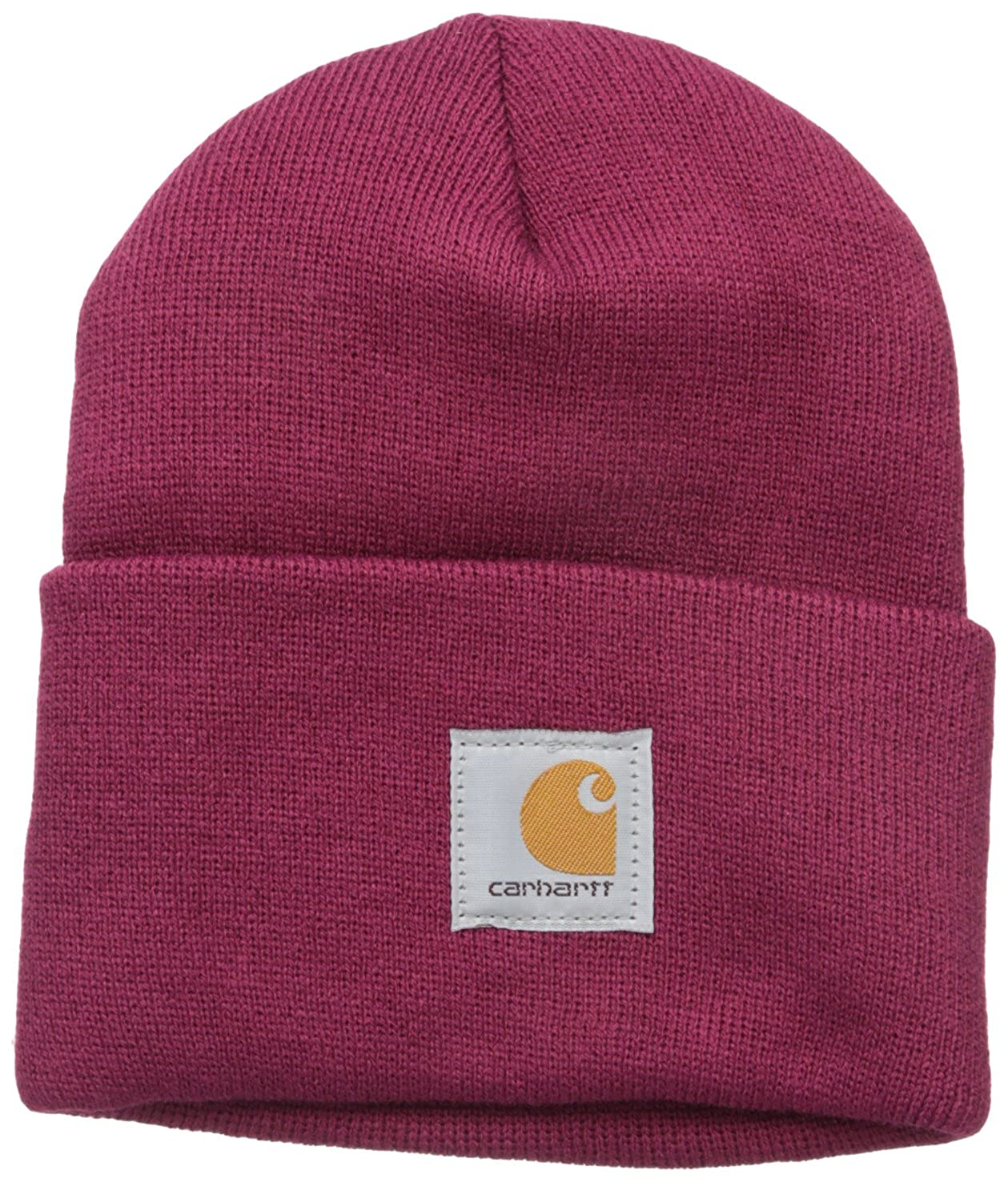 636b7be13d10bc Carhartt Women's Acrylic Watch Hat, Deep Wine, One Size: Amazon.ca:  Clothing & Accessories