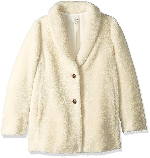 latest trends good reputation meet J.Crew Mercantile Women's Teddy Fleece Shawl Collar Coat