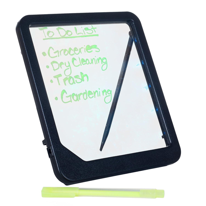 Trademark Glowing LED Writing Menu Message Board, Clear Trademark GLB 72-GT125B