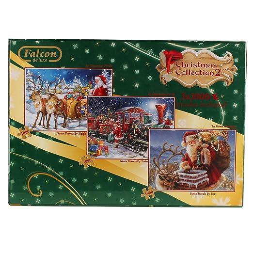 2 opinioni per Jumbo 11069- Set di 3 puzzle, Christmas Collection n° 2, 1000 pz. ciascuno