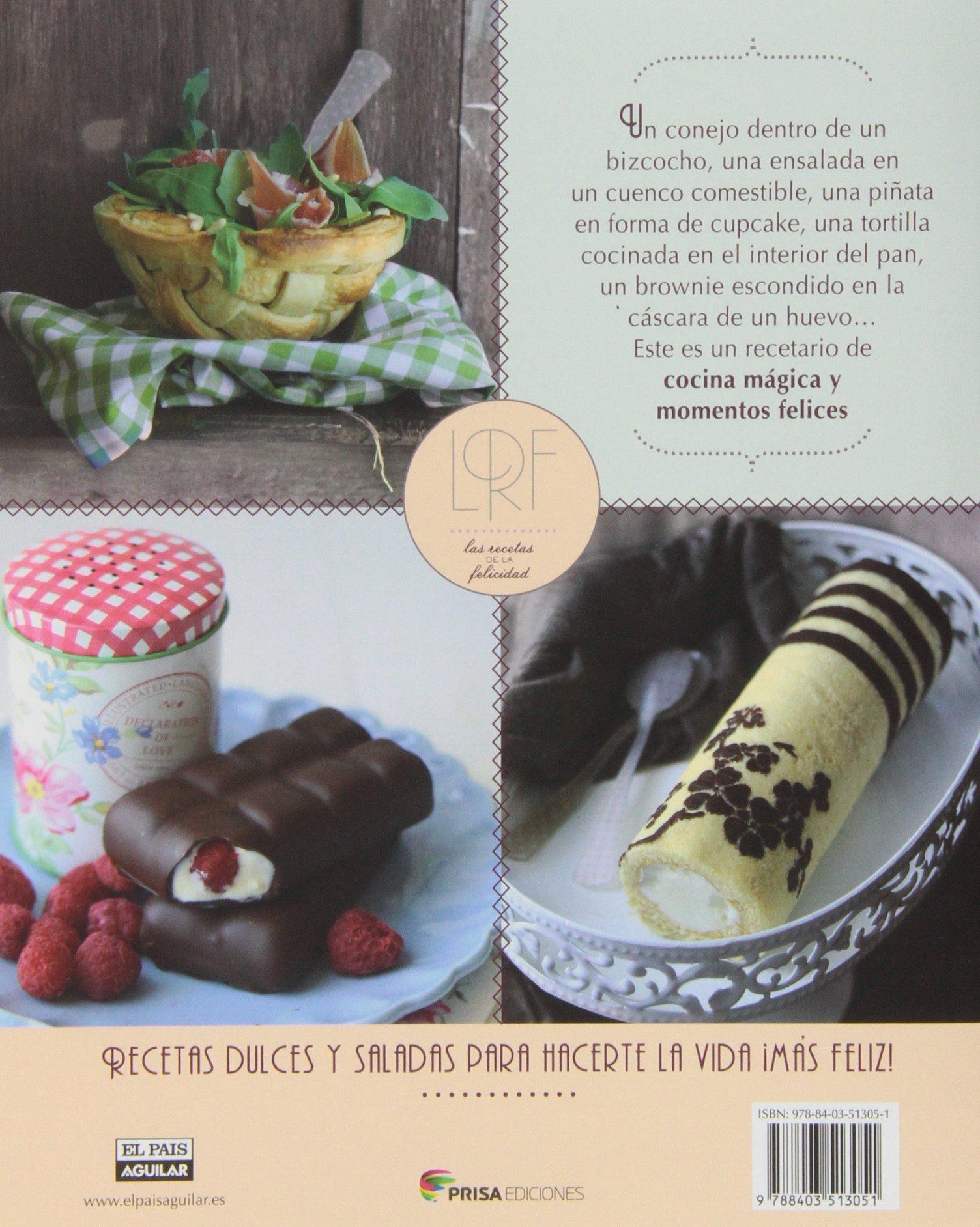 Las Recetas De La Felicidad (Cocina (P.Aguilar)): Amazon.es: Sandra ...