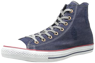 UK Online - Drinking Stars Converse Hi mixed mode child Trainers White / Blue / Red