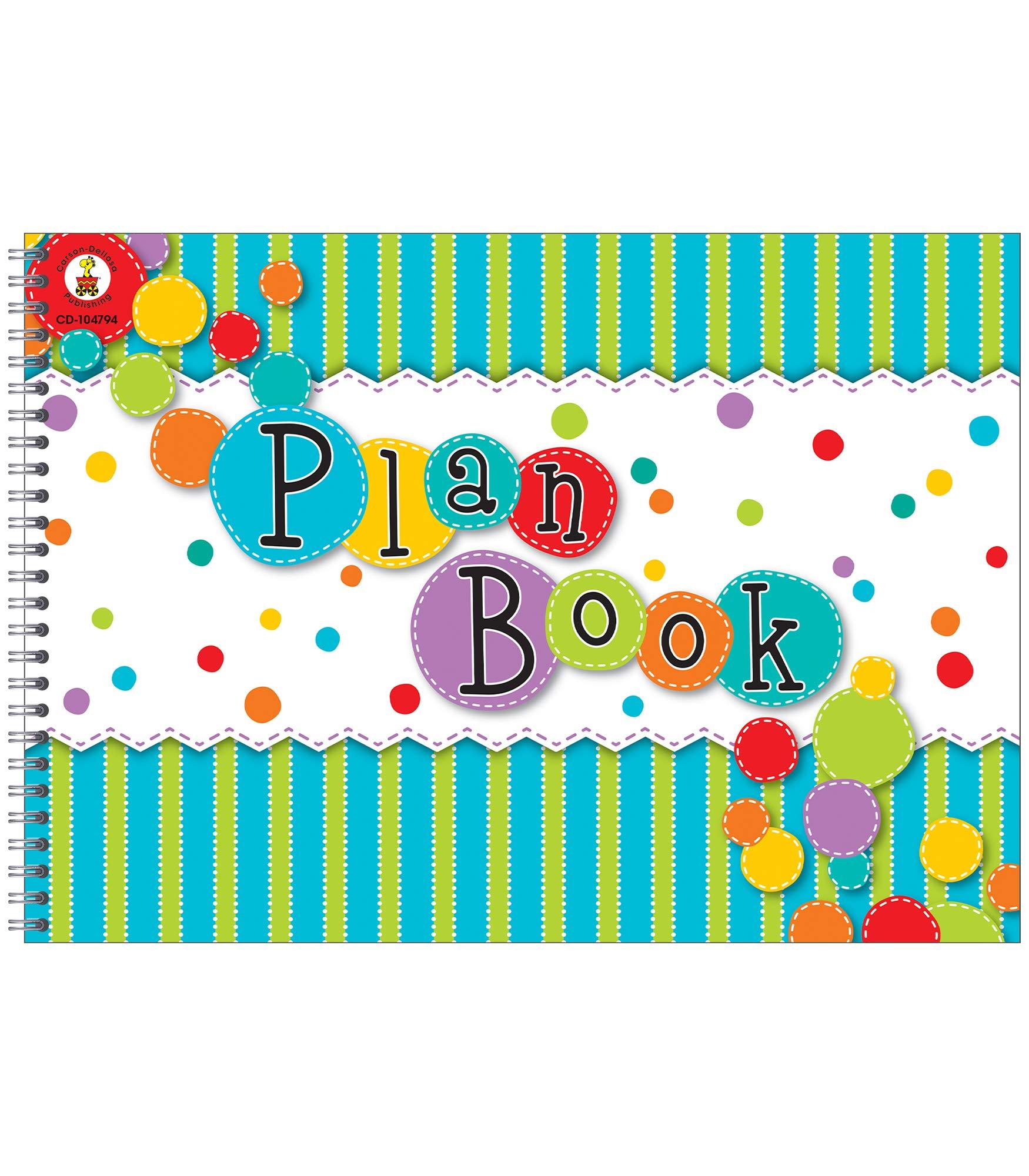 Carson Dellosa Fresh Sorbet Large Academic Teacher Planner Undated Daily Weekly Lesson Plan Book And Record Organizer For Classroom Or Homeschool 9 25 X 13 Carson Dellosa Publishing 9781483803753 Amazon Com Books