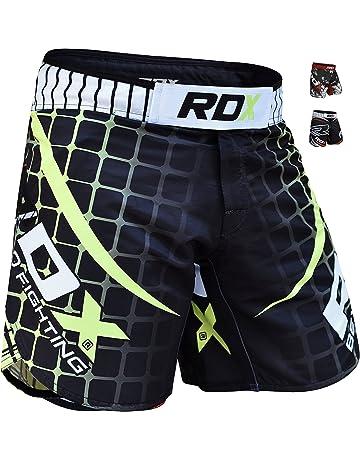 9e29d18513 RDX MMA Short d'Entraînement Grappling Kick Boxe Arts Martiaux Free Fight  Cage Combat