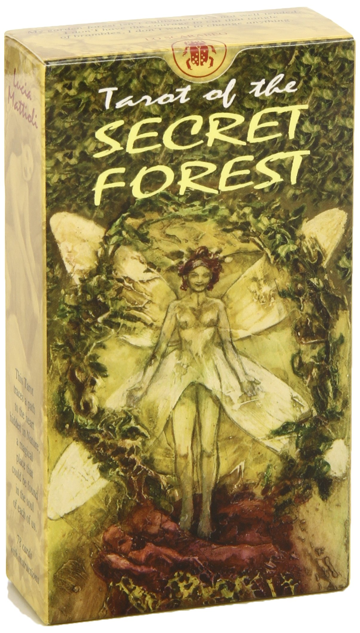 Tarot of the Secret Forest (English and Spanish Edition): Lo ...