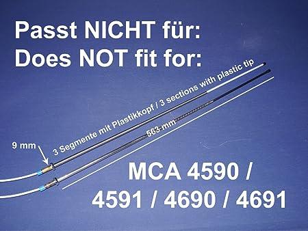 Ersatz Teleskop Mast für Hirschmann AUTA 6000 EL KE Antenne in BMW