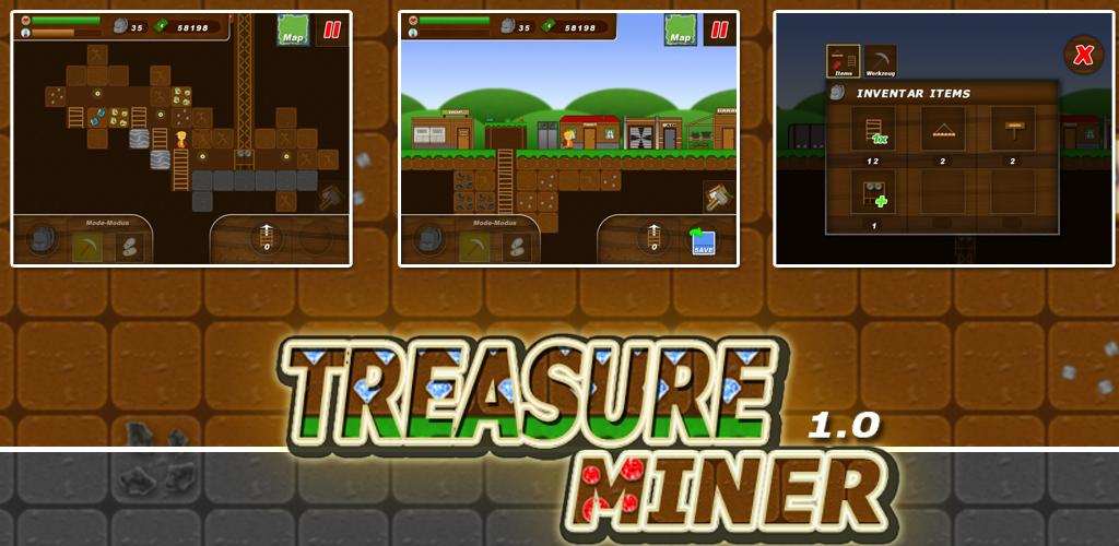 Treasure Miner - a mining adventure: Amazon.es: Appstore ...