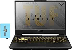"""ASUS TUF A15 FA506IV Gaming and Entertainment Laptop (AMD Ryzen 7 4800H 8-Core, 32GB RAM, 512GB PCIe SSD + 1TB HDD, NVIDIA RTX 2060, 15.6"""" Full HD (1920x1080), WiFi, Bluetooth, Win 10 Home) with Hub"""