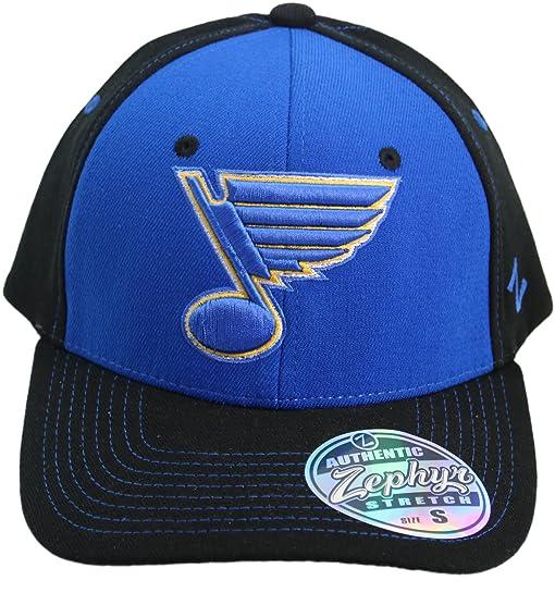 low priced 5fa65 07b63 ... new zealand nhl zephyr st louis blues quotthe z hatquot adult flex fit cap  hat b6c1b ...
