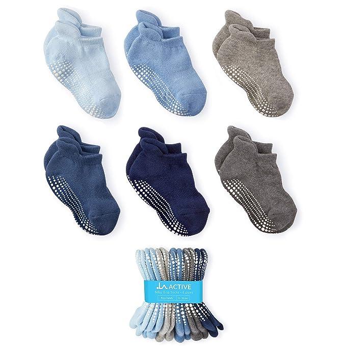 Amazon.com: Calcetines de tobillo de agarre activo, 6 pares ...