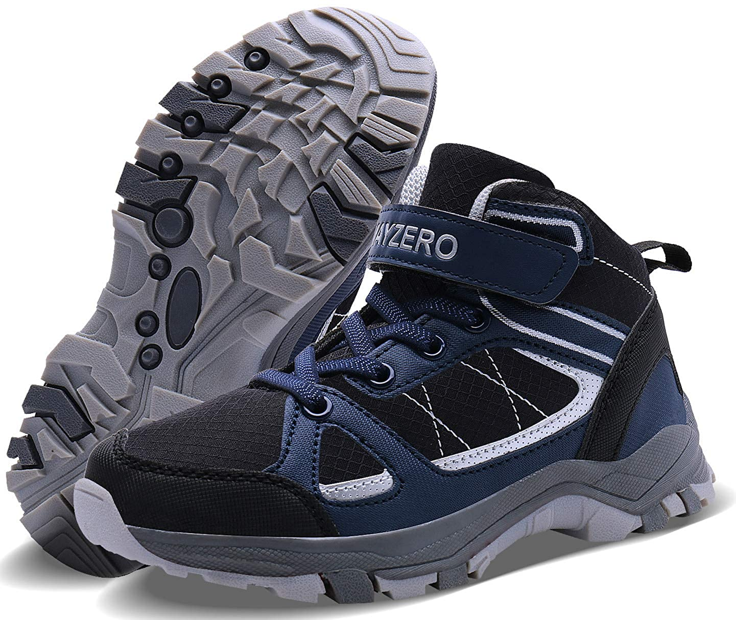 Wonesion Kids Hiking Shoes Climbing Trekking Boots Boys Girls Outdoor  Walking Shoes for Travelling Camping Winter Boys