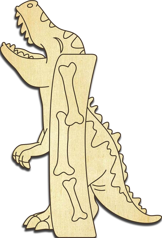 Farbklecks Collection Holzbuchstabe Dinosaurier I - 20 cm Höhe - Buchstabentiere - Holzbuchstaben - Holz-Buchstabe