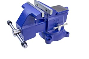 "Yost Vises 445 4.5"" Heavy-Duty Utility Combination Pipe and Bench Vise"