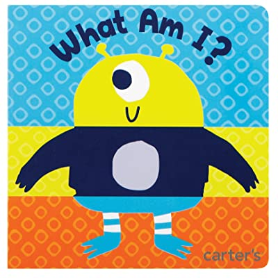 Carter's Aliens and Robots Mix-and-Match Baby Picture Book, 14 Pages : Baby Shape And Color Recognition Toys : Baby