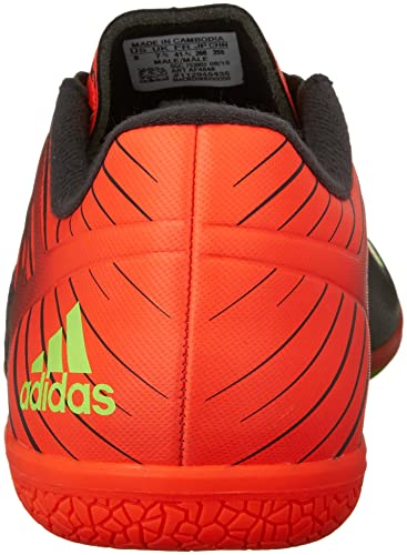 new concept be953 7369f Adidas Performance Messi 15.3 Indoor Soccer Shoe, black shock Green solar  Red, 7 M Us  Amazon.co.uk  Shoes   Bags