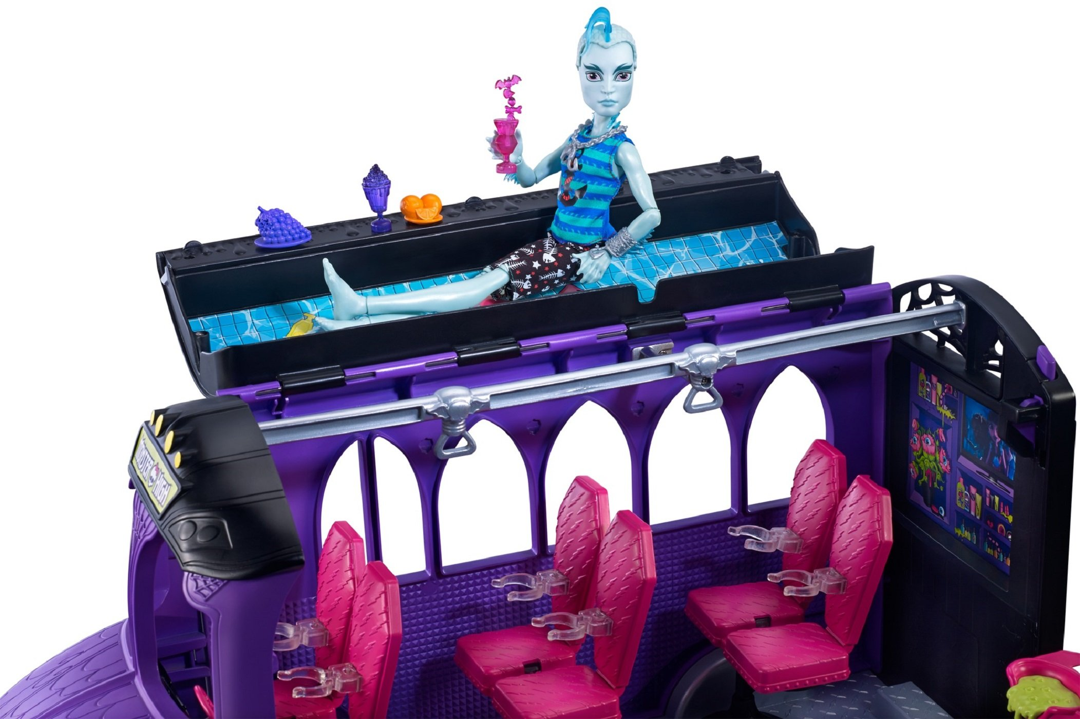 monster high school playset instructions