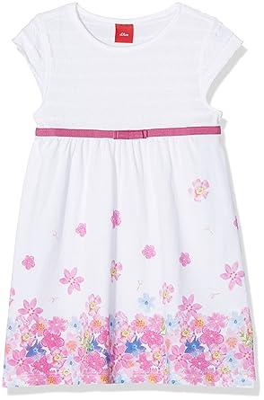 billig für Rabatt 228ca 80a8c s.Oliver s.Oliver Mädchen Kleid Kurz 53.704.82.2644, Weiß ...