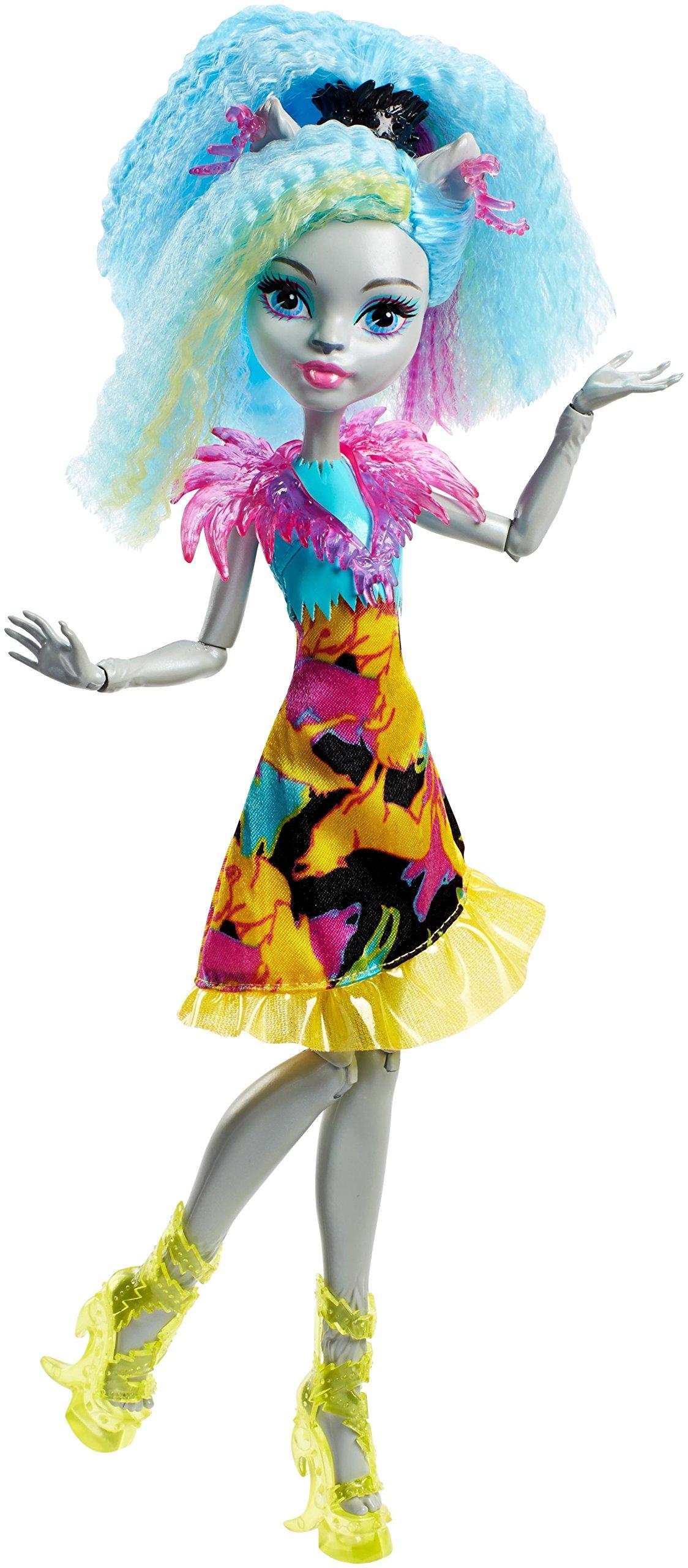 Monster High Electrified Hair-raising Ghouls Silvi Timberwolf Doll by Monster High