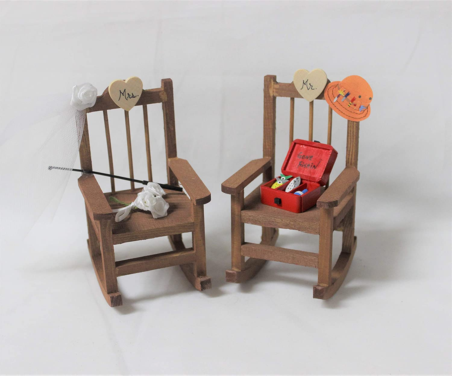Incredible Amazon Com Wedding Reception Fishing Rocking Mr And Mrs Gamerscity Chair Design For Home Gamerscityorg