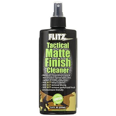Flitz TM 81585 Tactical Matte Finish Cleaner, 7.6 oz.: Automotive