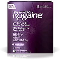Rogaine Hair Regrowth Treatment for Women, 2 Ounce