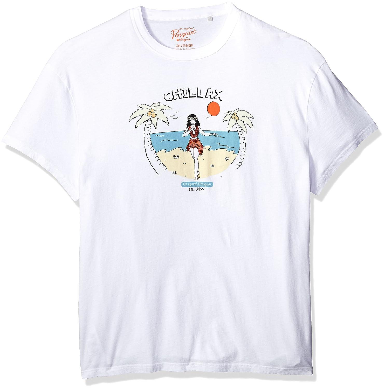 Original Penguin Mens Chillax Tee