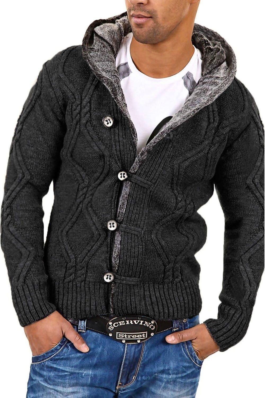 Carisma Men's sweater 7013 L darkgray