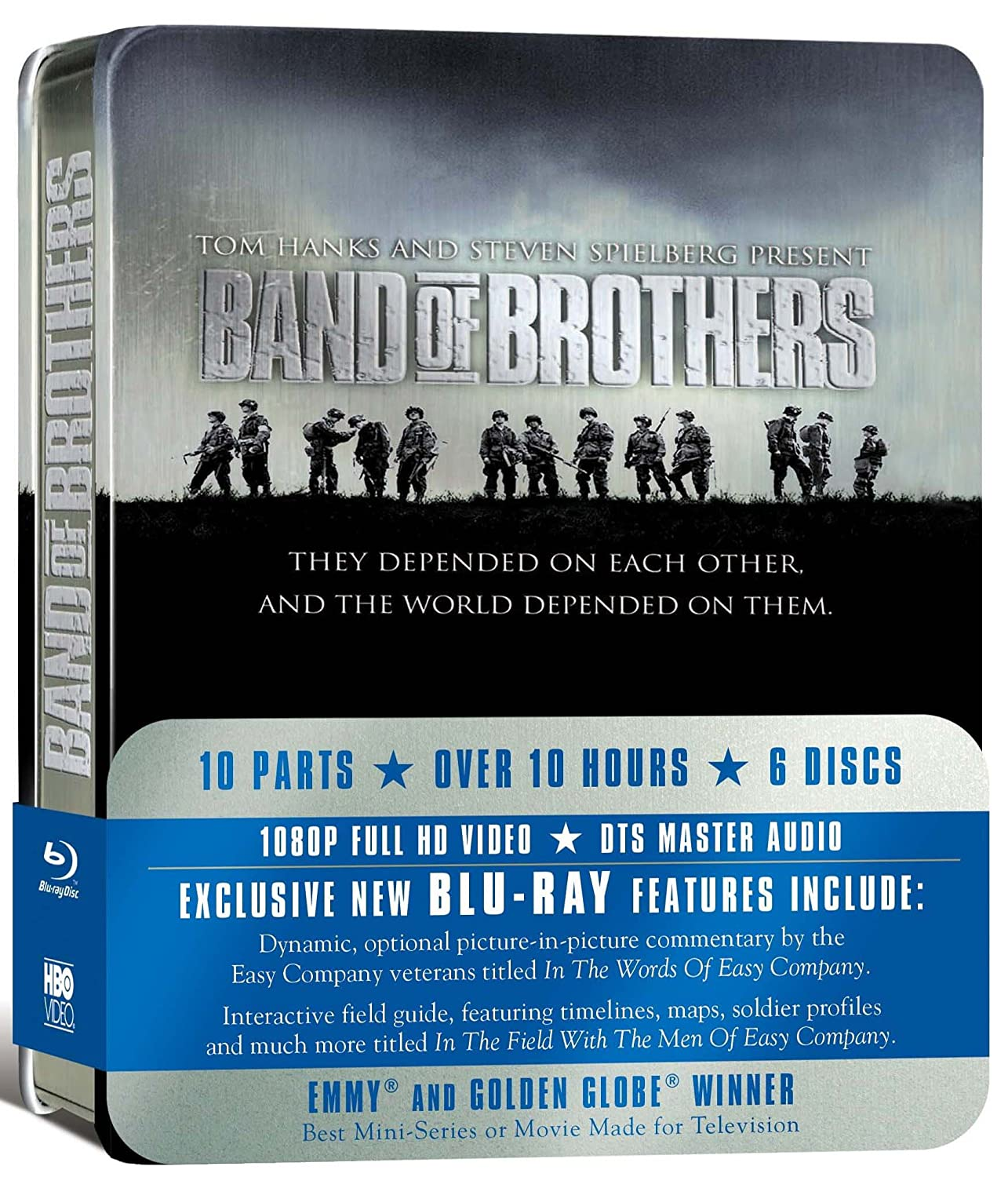 BAND OF BROTHERS COMPLETE [Reino Unido] [Blu-ray ...