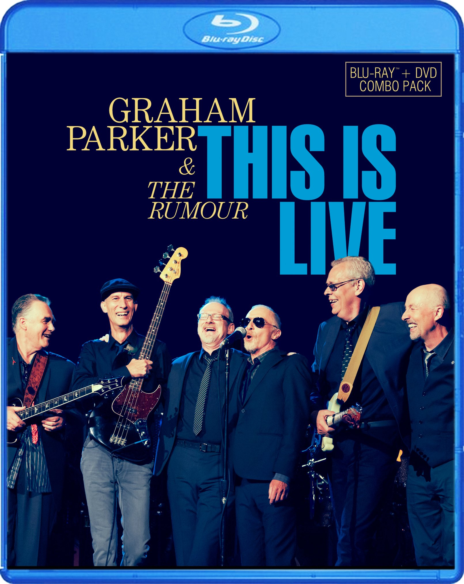 Blu-ray : Graham Parker - This Is Live (2 Disc)