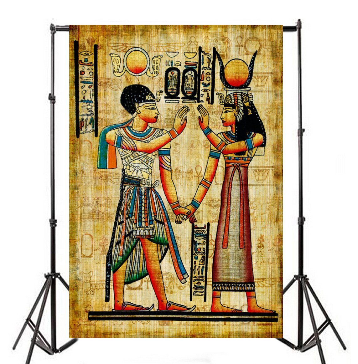 Amazon Com Ofila Ancient Egyptian Paintings Backdrop 6x8ft Pharaoh