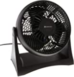 """Bovado USA CZHV8T 8"""" Turbo Desk Fan-3 Speed Motor-High Power Air Circulator with Adjustable Tilt and Carry Handle-Wall Mountable-Black-by Comfort Zone"""