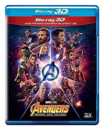 Avengers: Infinity War Blu-Ray + Blu-Ray 3D Region Free IMPORT No ...