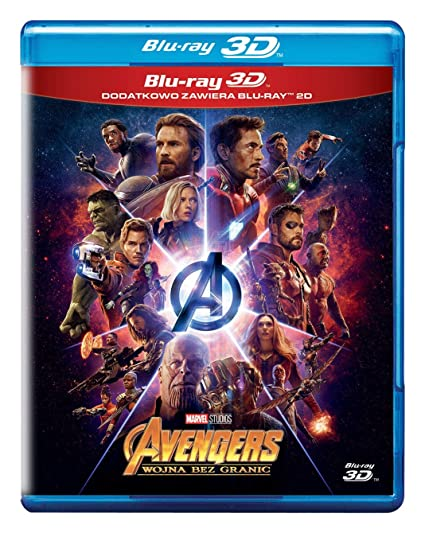 Avengers: Infinity War Blu-Ray + Blu-Ray 3D Region Free IMPORT No hay versión española: Amazon.es: Robert Downey Jr., Chris Hemsworth, Mark Ruffalo, Chris Evans, Scarlett Johansson, Don Cheadle, Benedict Cumberbatch, Tom Holland,