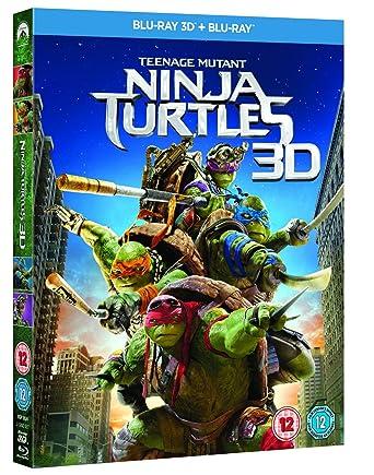 Amazon.com: Teenage Mutant Ninja Turtles (2 Disc 3D + Blu ...