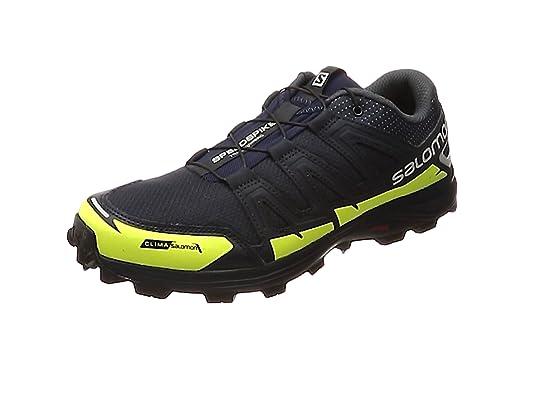 Salomon Speedspike CS, Zapatillas de Running para Hombre, Azul (Navy Blazer/Reflective