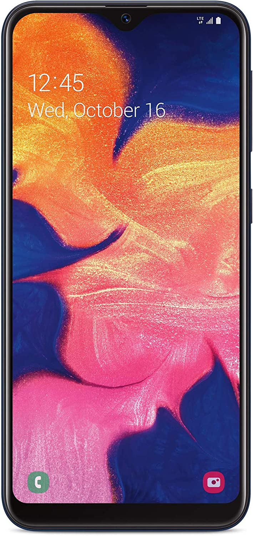 TracFone TFSAS102DCP Samsung Galaxy A10e 4G LTE Prepaid Smartphone (Locked) - Black - 32GB - SIM Card Included - CDMA