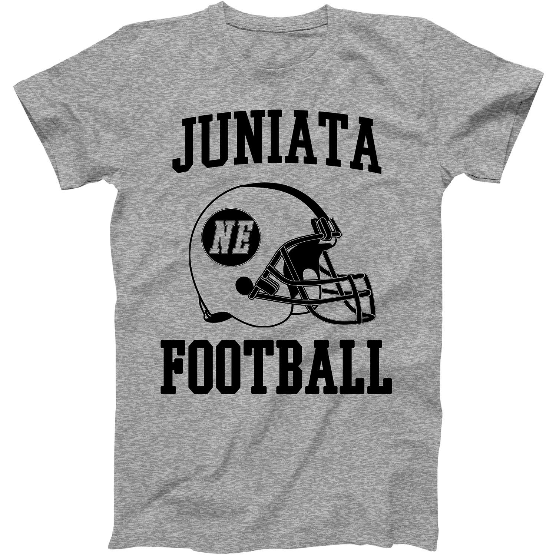 Vintage Football City Juniata Shirt For State Nebraska With Ne On Retro Helmet Style
