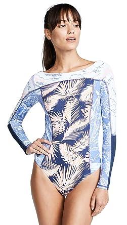 ac365da7fda61 Maaji Women's Reversible Solano Bay Rash Guard at Amazon Women's Clothing  store: