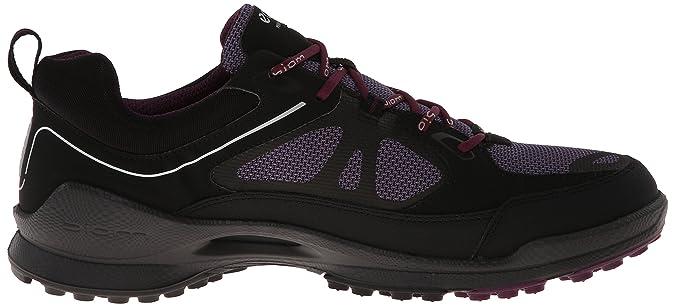 Ecco Biom Ultra Womens, Damen Sportschuhe, Schwarz - Black/Light Purple/ Burgundy - Größe: 37: Amazon.de: Schuhe & Handtaschen